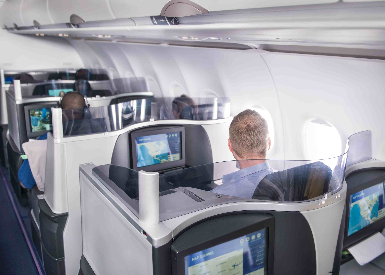 JetBlue's Mint cabin