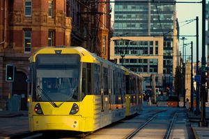 Tram in Manchester