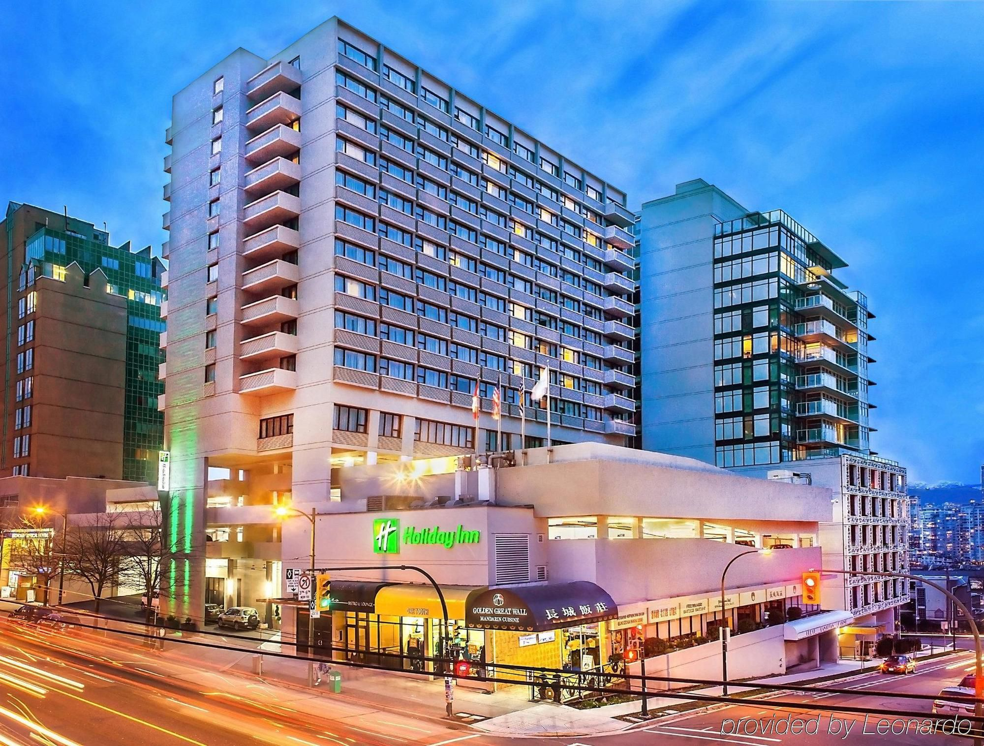 Exterior of Holiday Inn Vancouver City Centre
