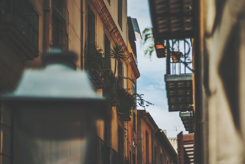 A street in the Born neighborhood of Barcelona.