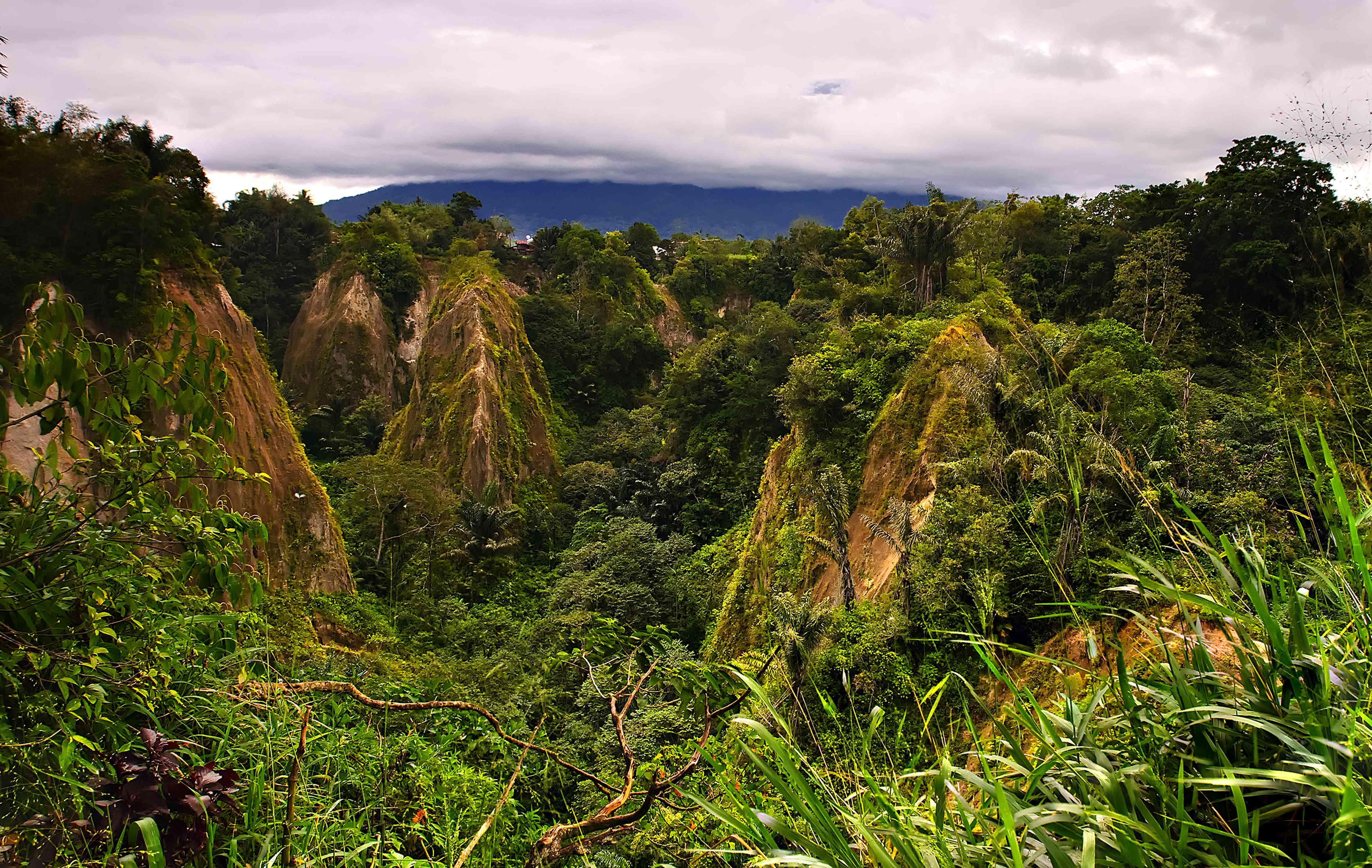 Sianok Canyon near Bukittinggi in West Sumatra