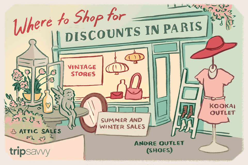 Discounts in Paris