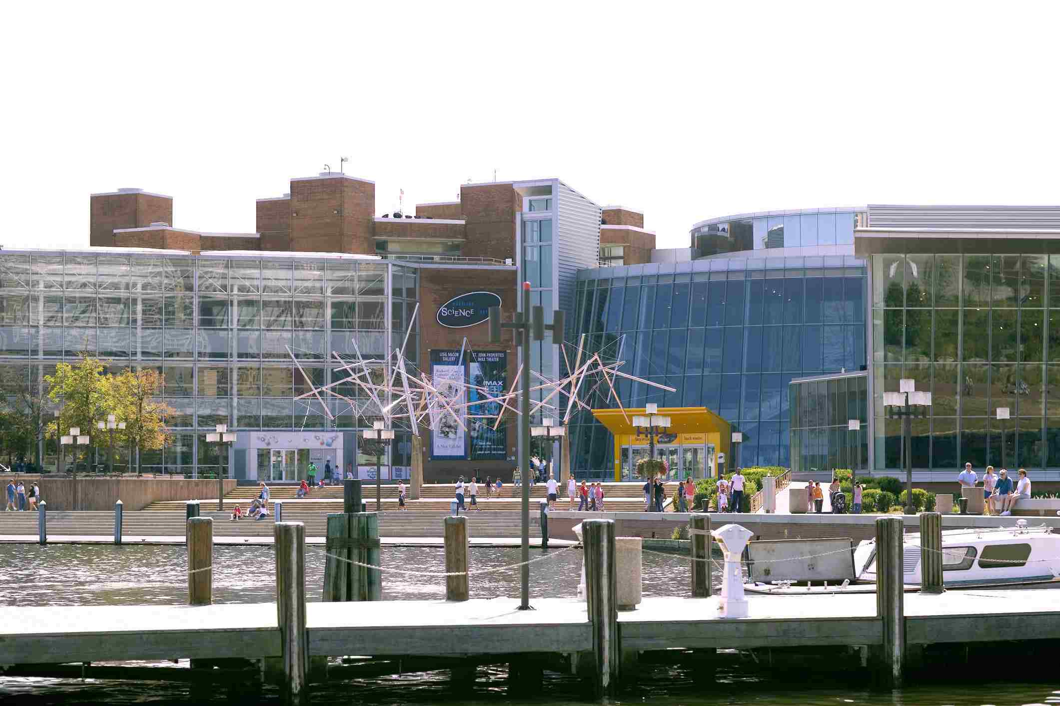 Port Discovery, Inner Harbor, Baltimore, Maryland, EE. UU.