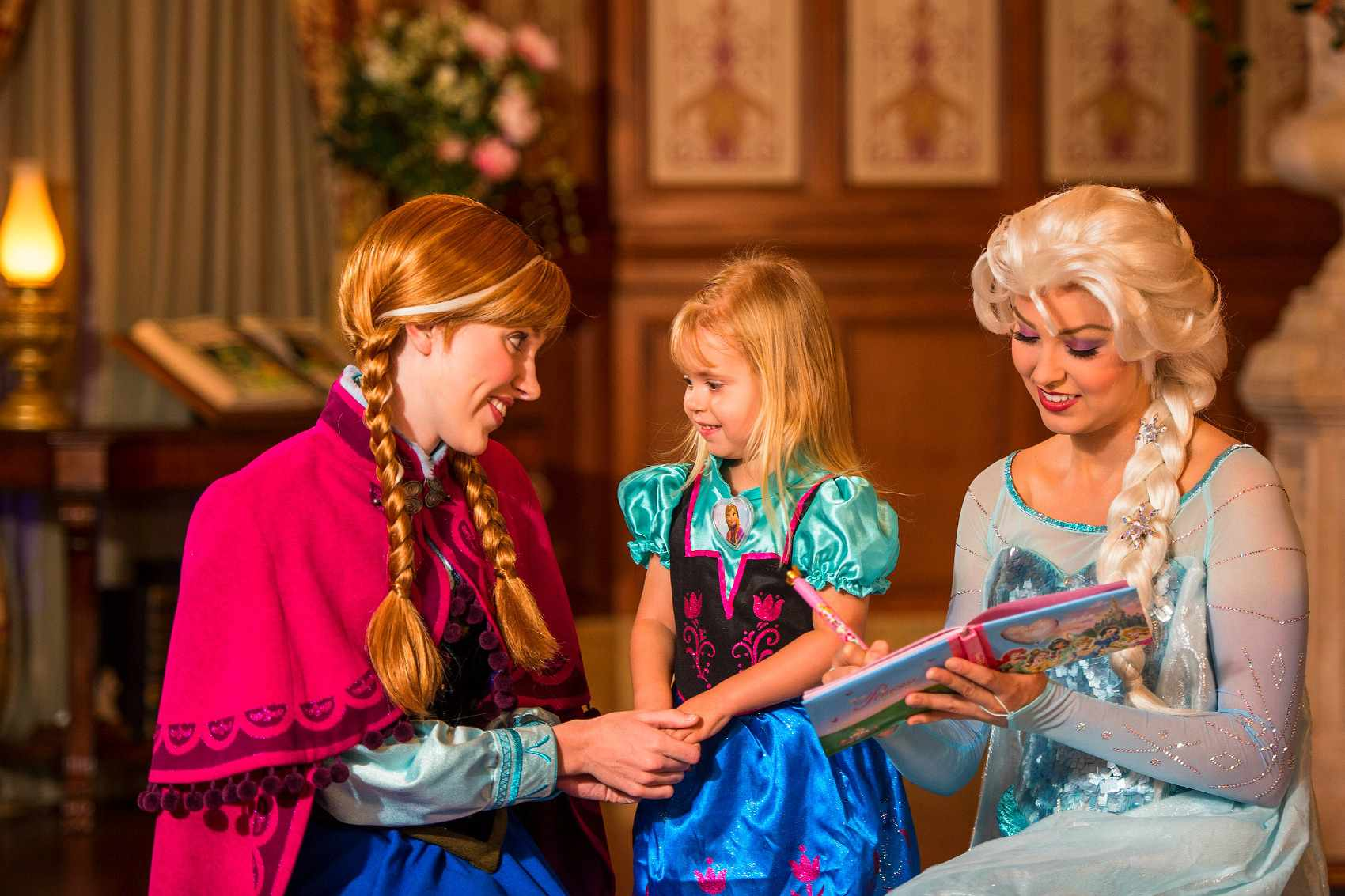 Game plan for meeting elsa and anna at disney world m4hsunfo