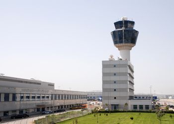 Air Traffic Control Tower at Athens, Greece