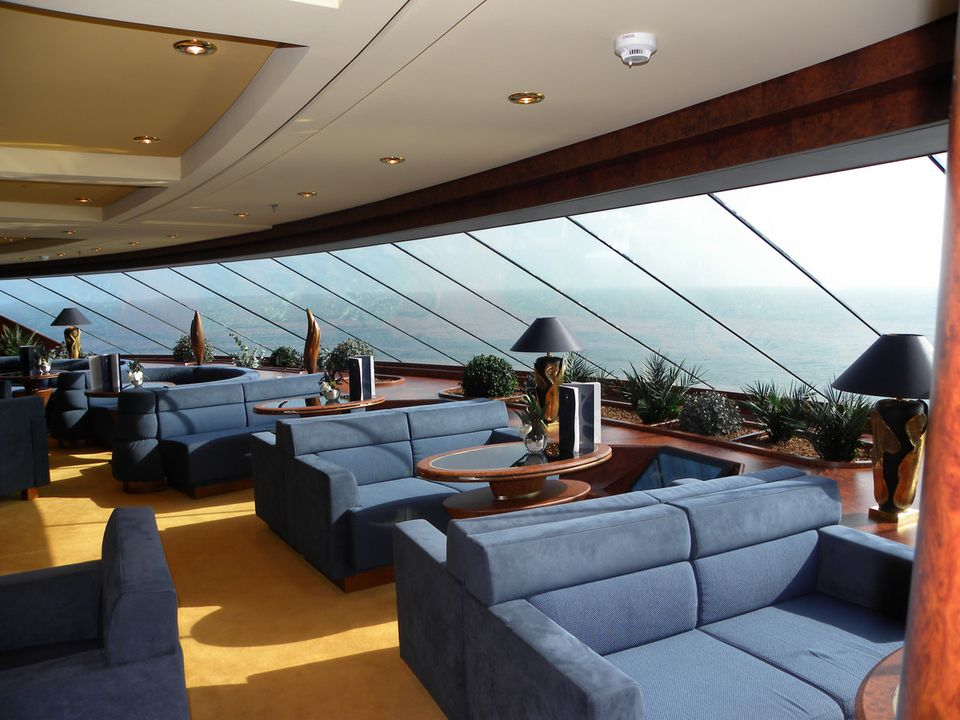 MSC Splendida - MSC Yacht Club Top Sail Lounge