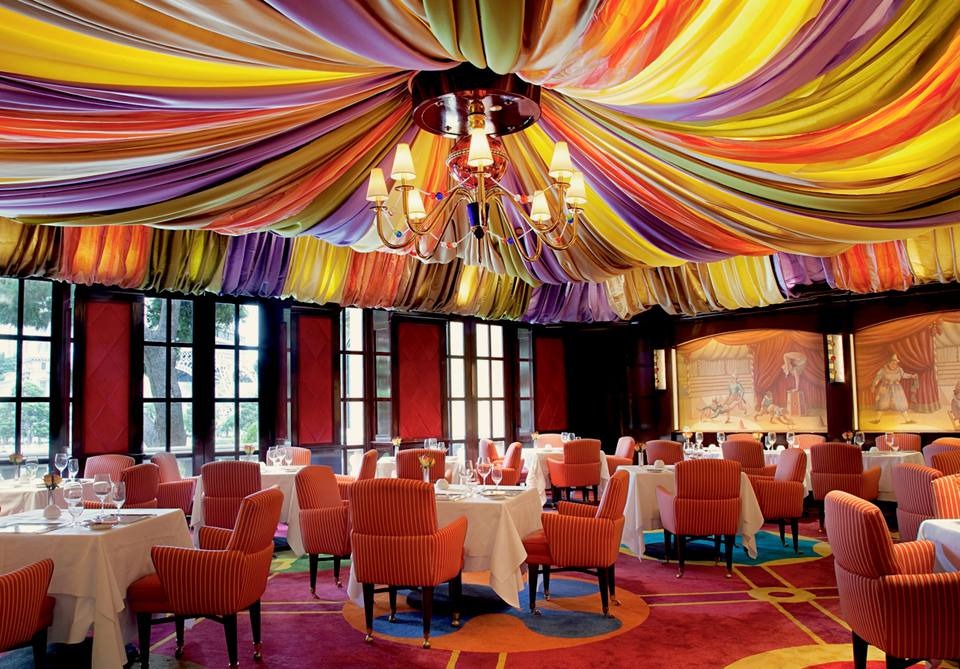Le CIrque restaurant in Bellagio Las Vegas