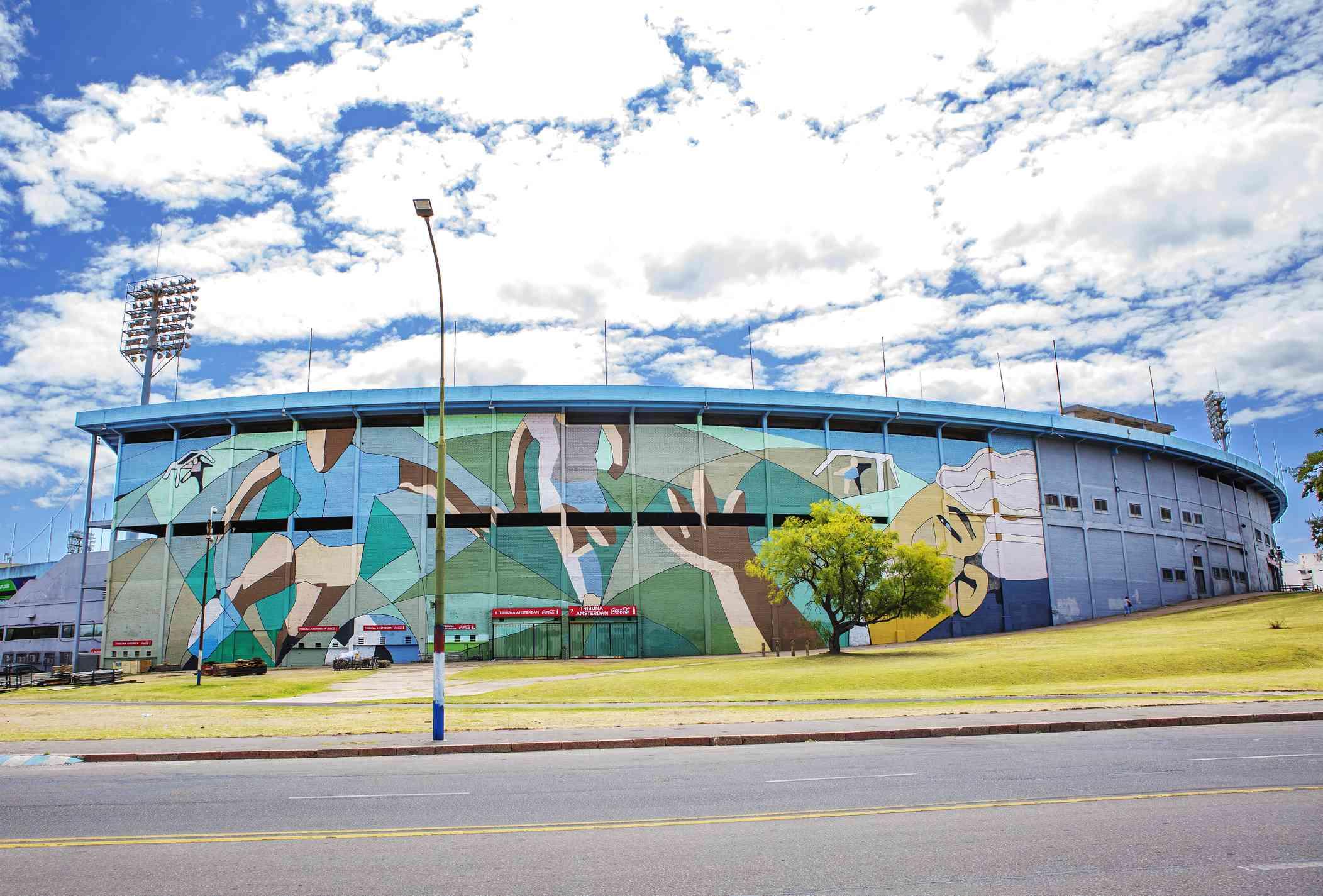 Montevideo, Uruguay, Centenario stadium.