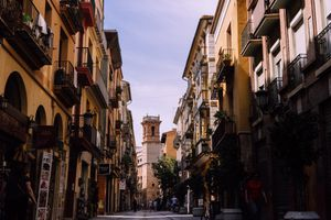Old town in Valencia
