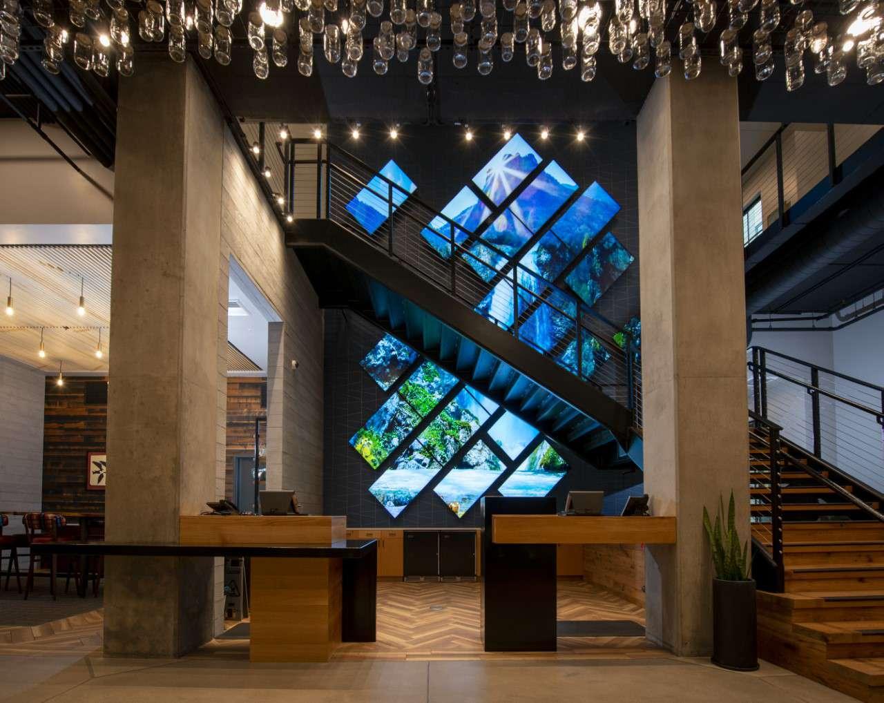 Gordon Hotel art installation