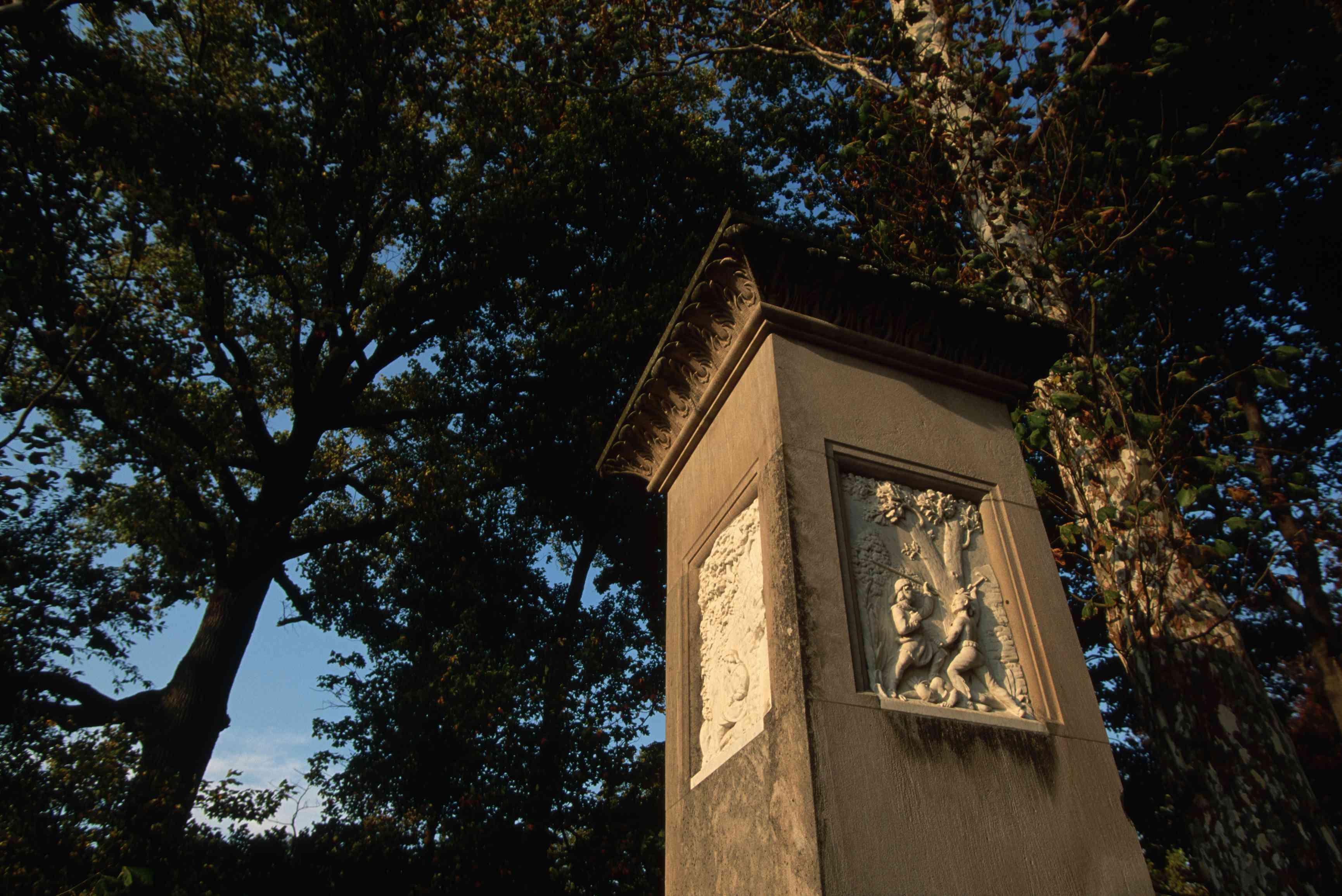 Daniel Boone's Grave Marker