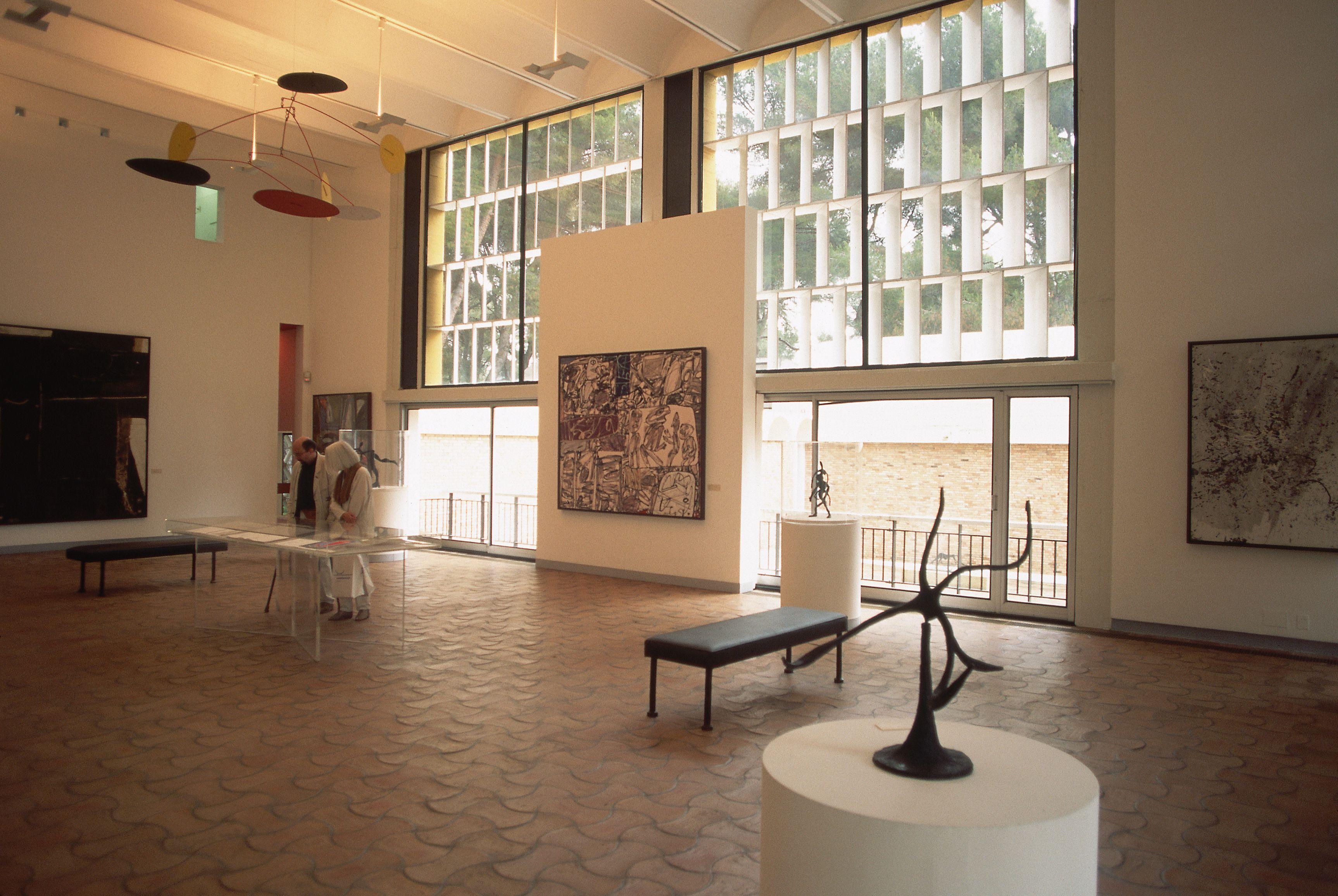 Gallery in Fondation Maeght