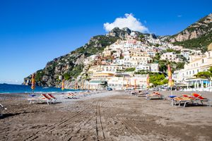 Maria Grande Beach, Positano, Amalfi Coast, Italy