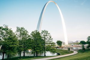 A picture of the St. Louis Arch