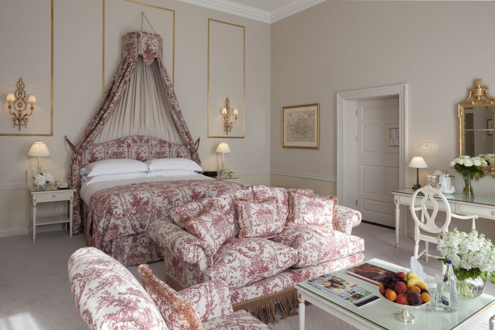 A room at the Merrion Hotel