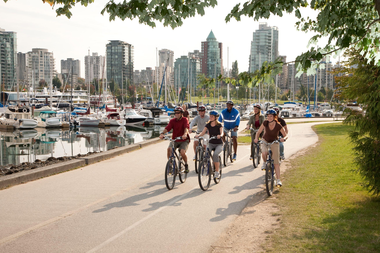 Biking tour of Stanley Park, Vancouver