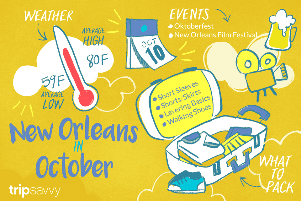 October In New Orleans Weather And Event Guide