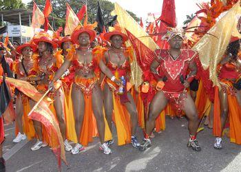 Carnival parade costumes, Trinidad & Tobago