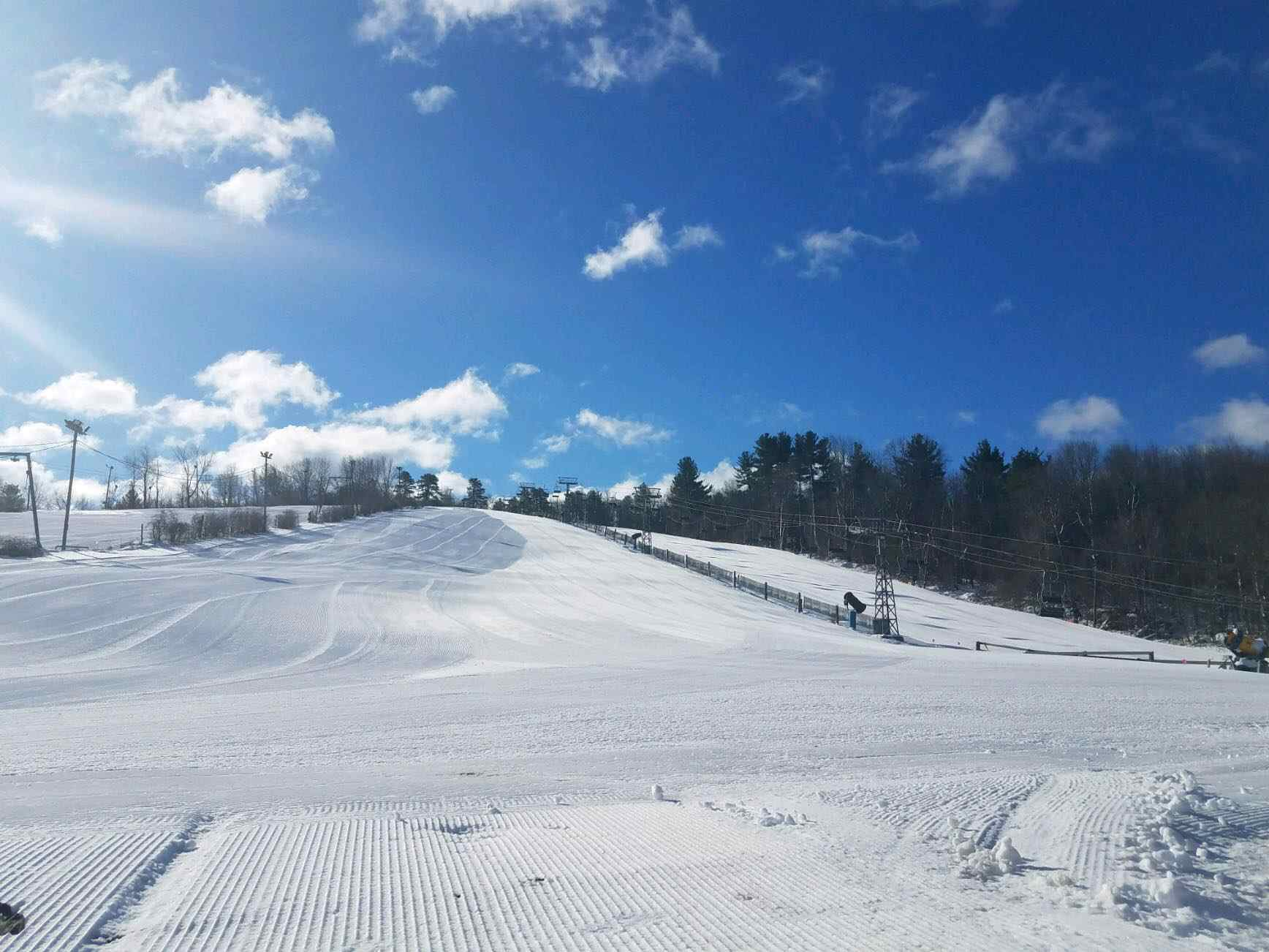 tubing in new england is a chilly thrill