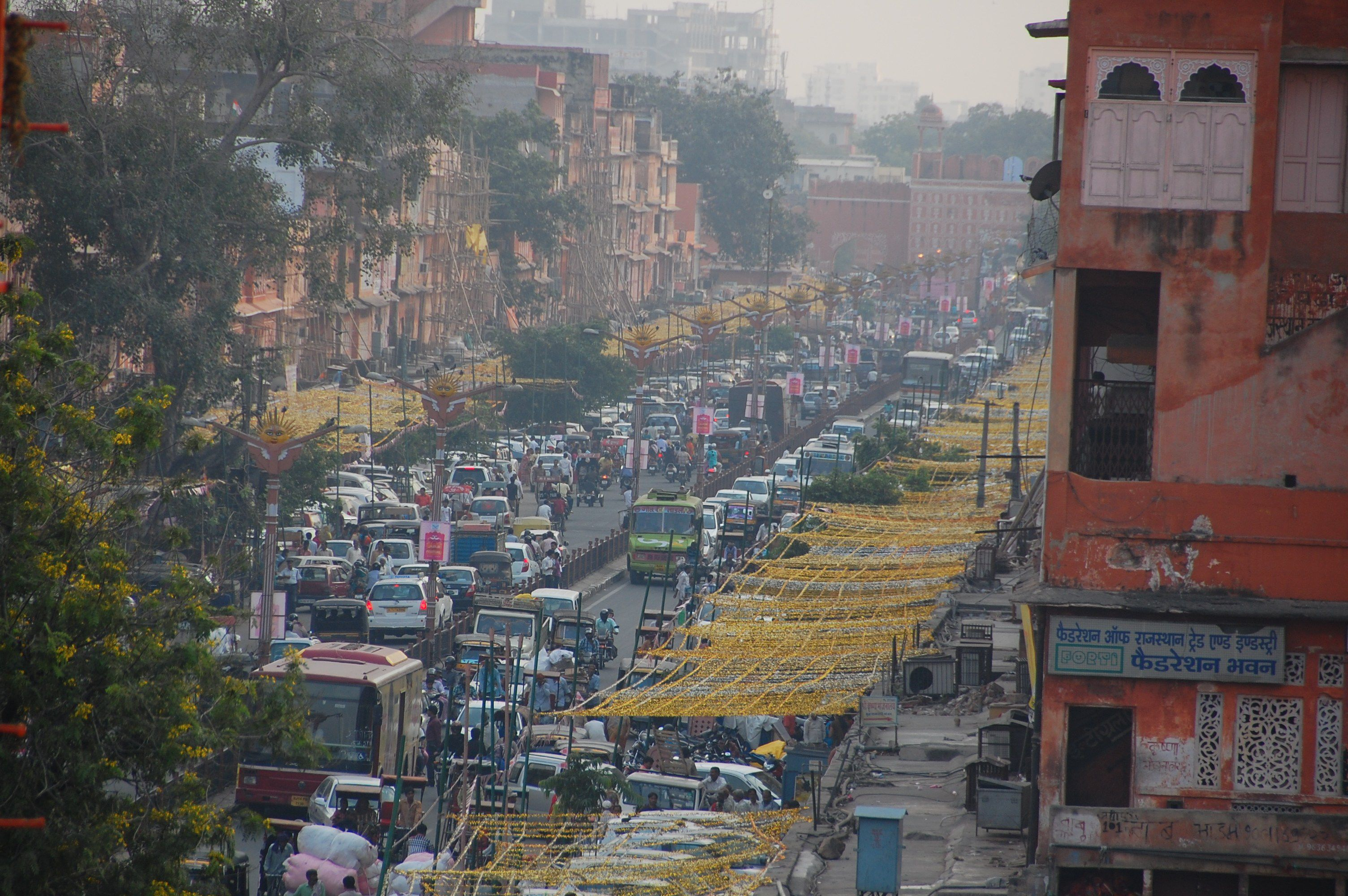 India is crowded