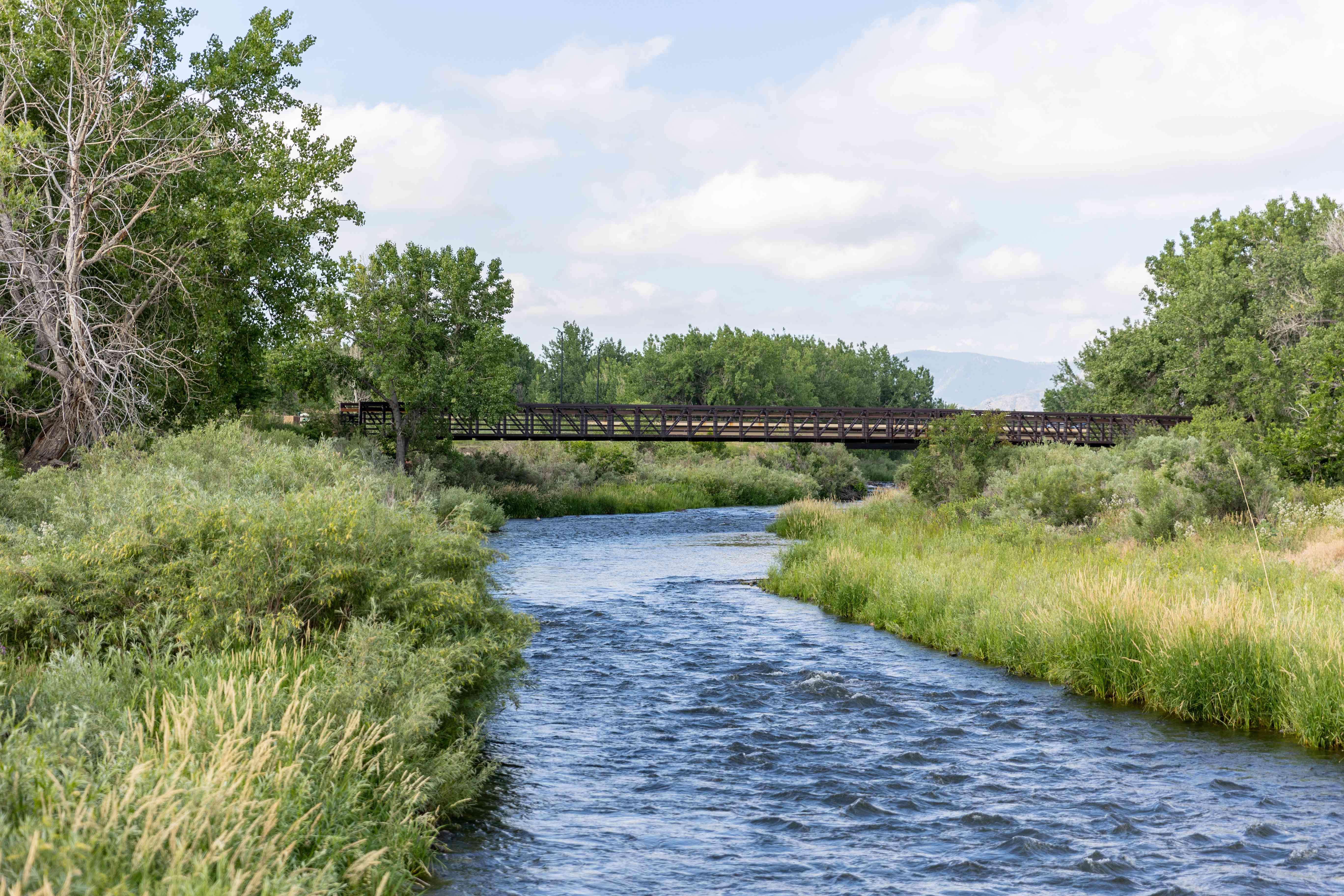 Platte River Trail in Denver