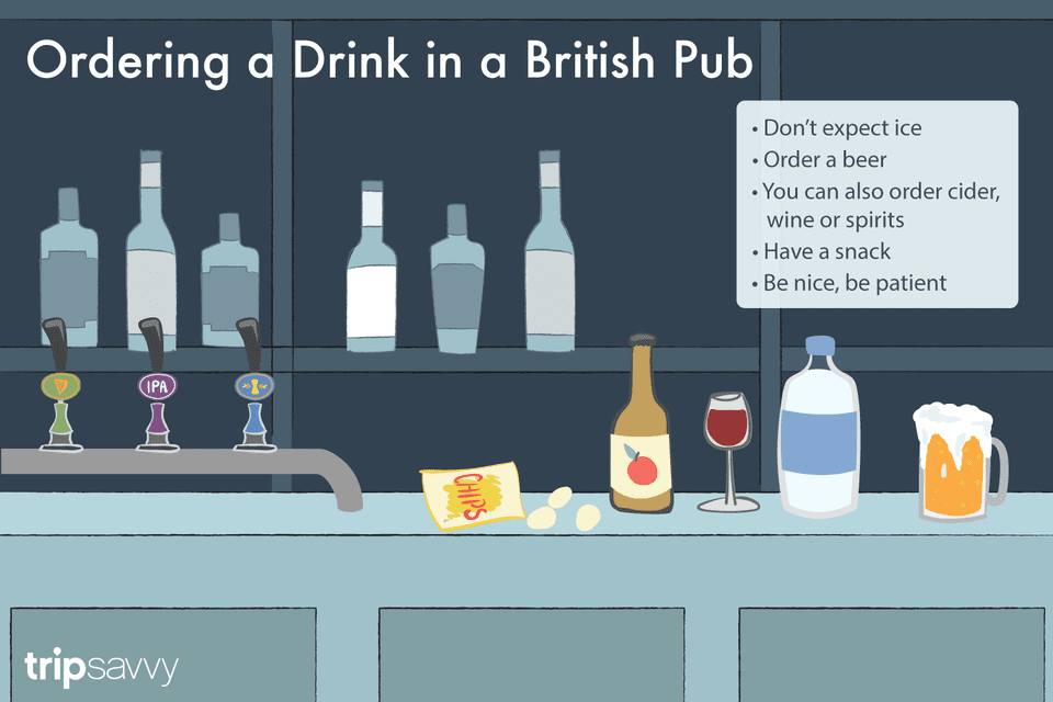 How To Order A Beer In A British Pub