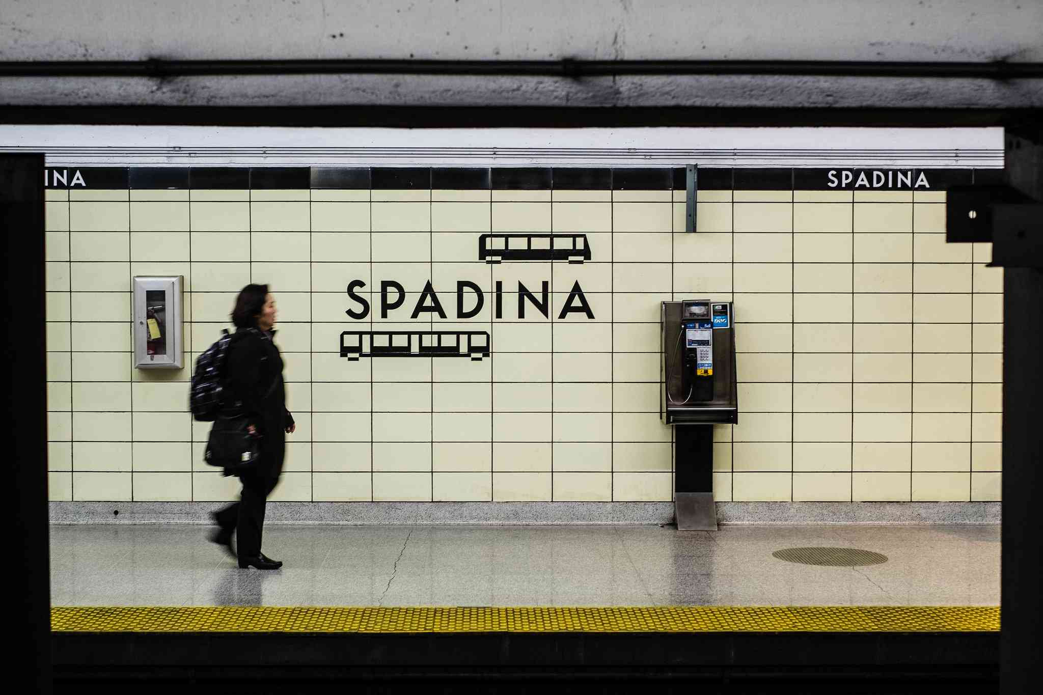Station Spadina, Toronto, Canada
