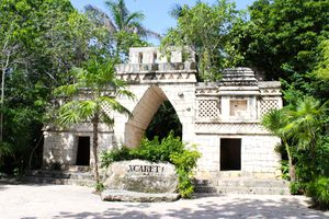 Xcaret Park in the Riviera Maya