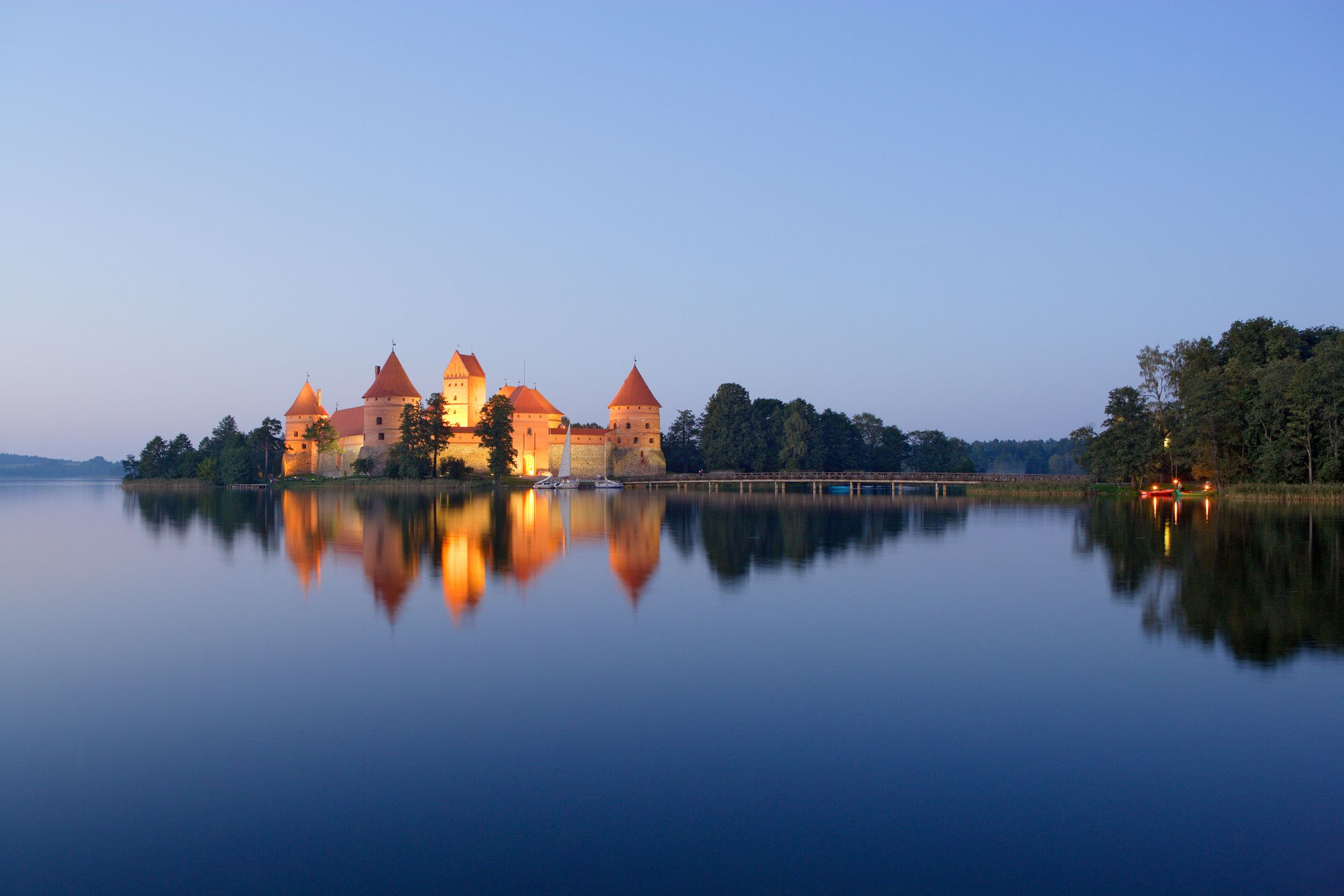 Trakai Castle Lithuania S Famous Medieval Stronghold