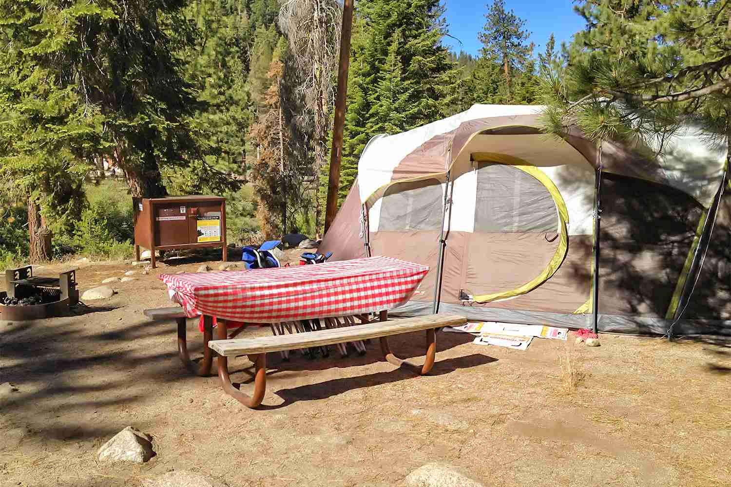Sequoia Camping - Kings Canyon Campgrounds