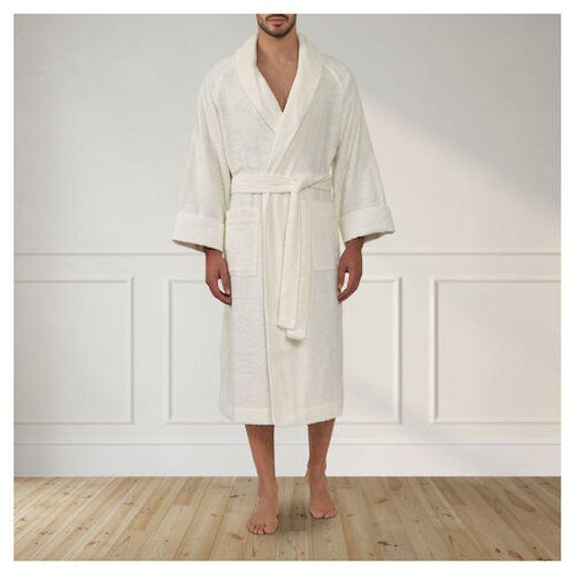Frette Unito Shawl Robe