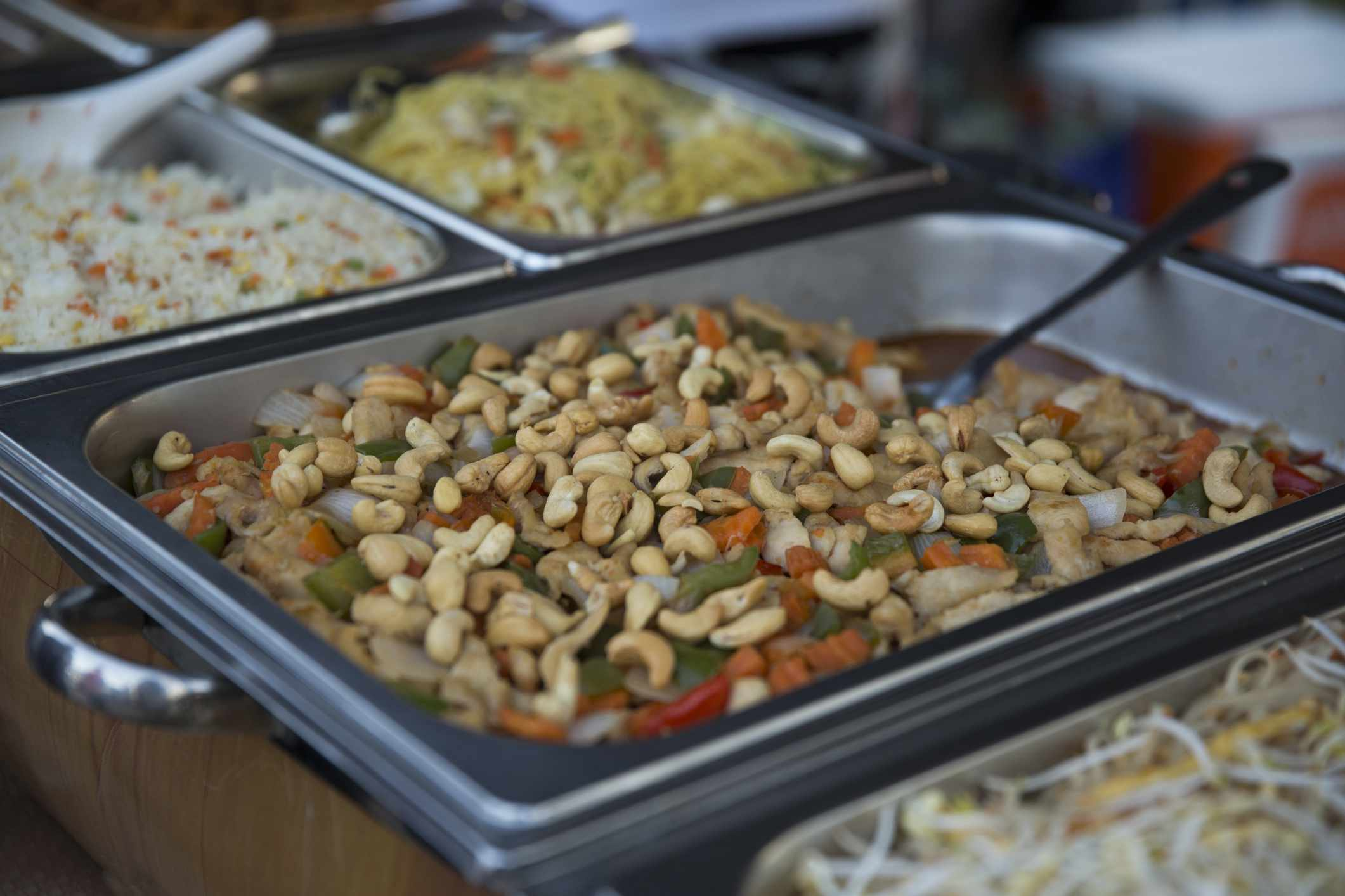Street food in Doha