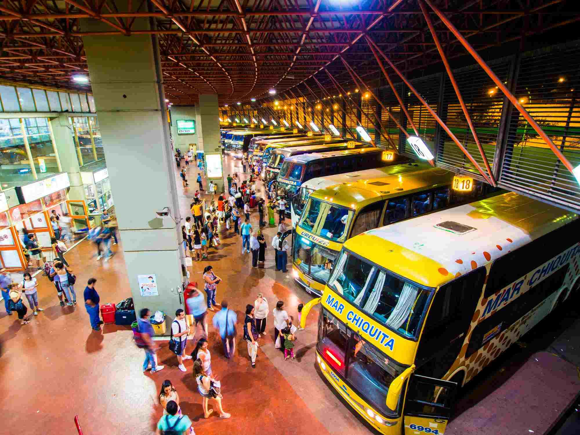 Bus Terminal in Cordoba, Argentina