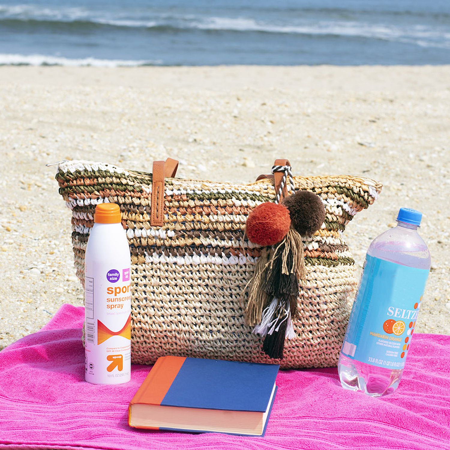 Daisy Rose Large Straw Beach Tote Bag Review