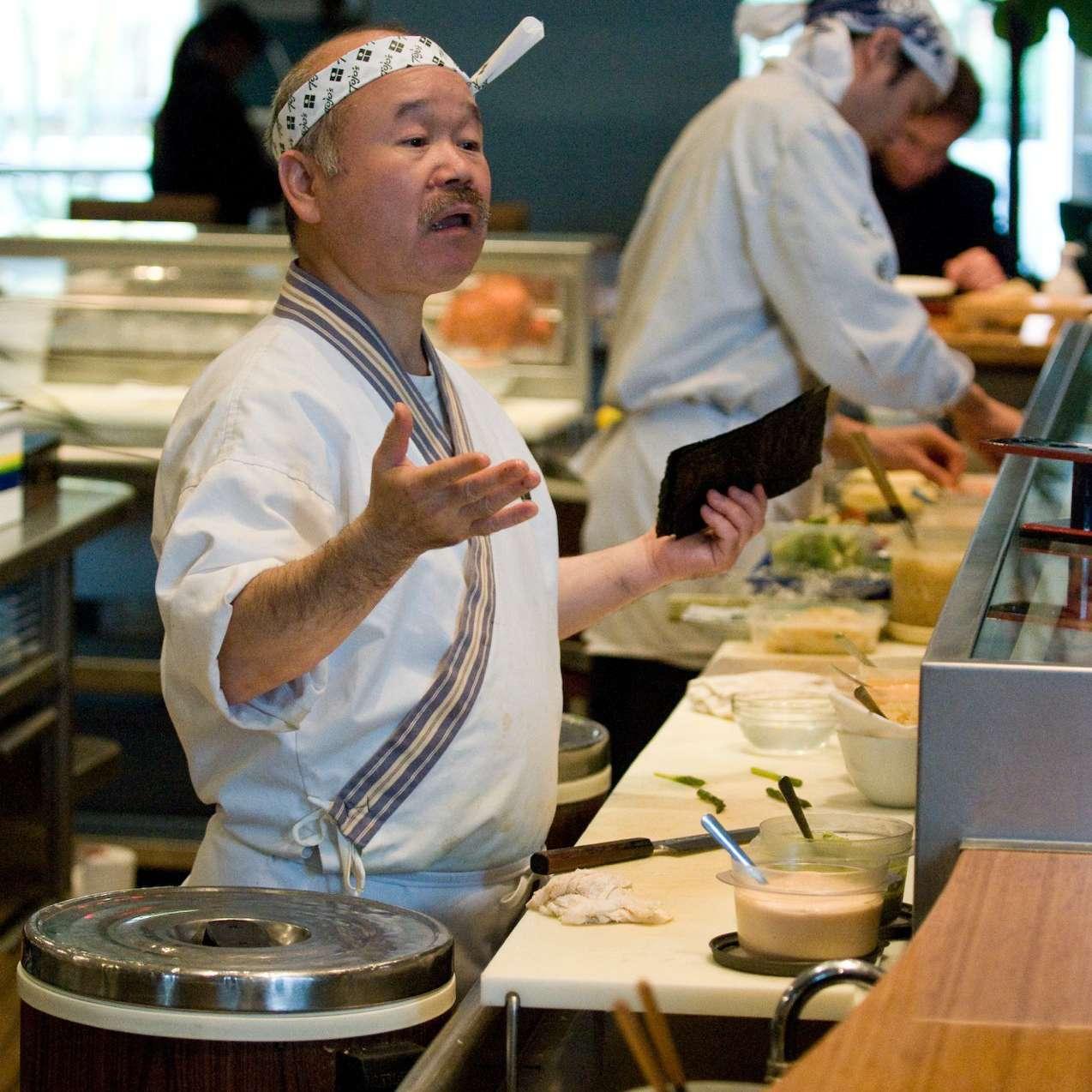 vancouver seafood: tojo's
