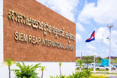 Angkor Wat Karte.Guide To Siem Reap International Airport Cambodia