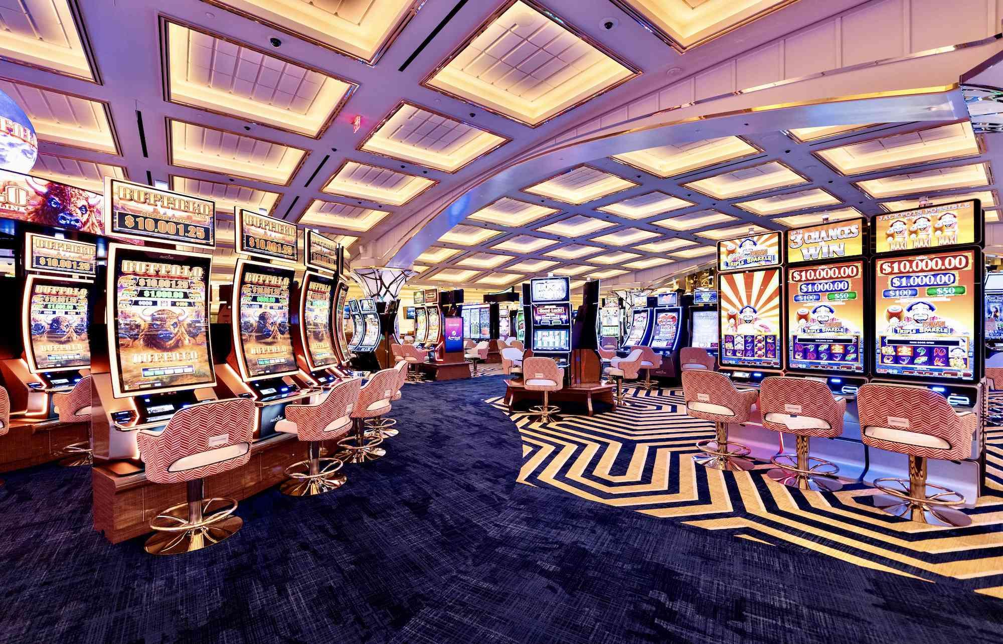 casino at Resorts World Las Vegas