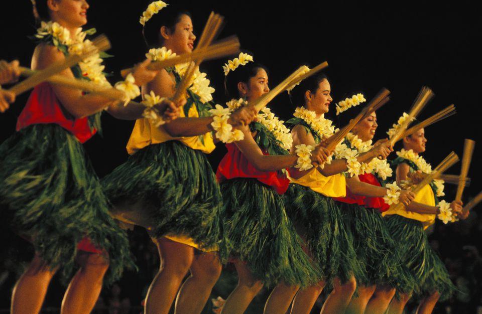 Hula Kahiko - Merrie Monarch Festival