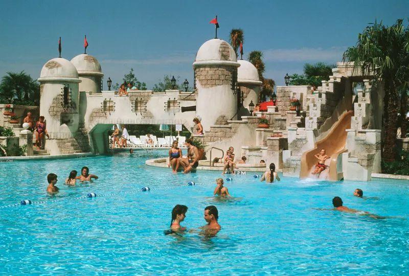 Fuentes del Morro Pool at Disney's Caribbean Beach Resort