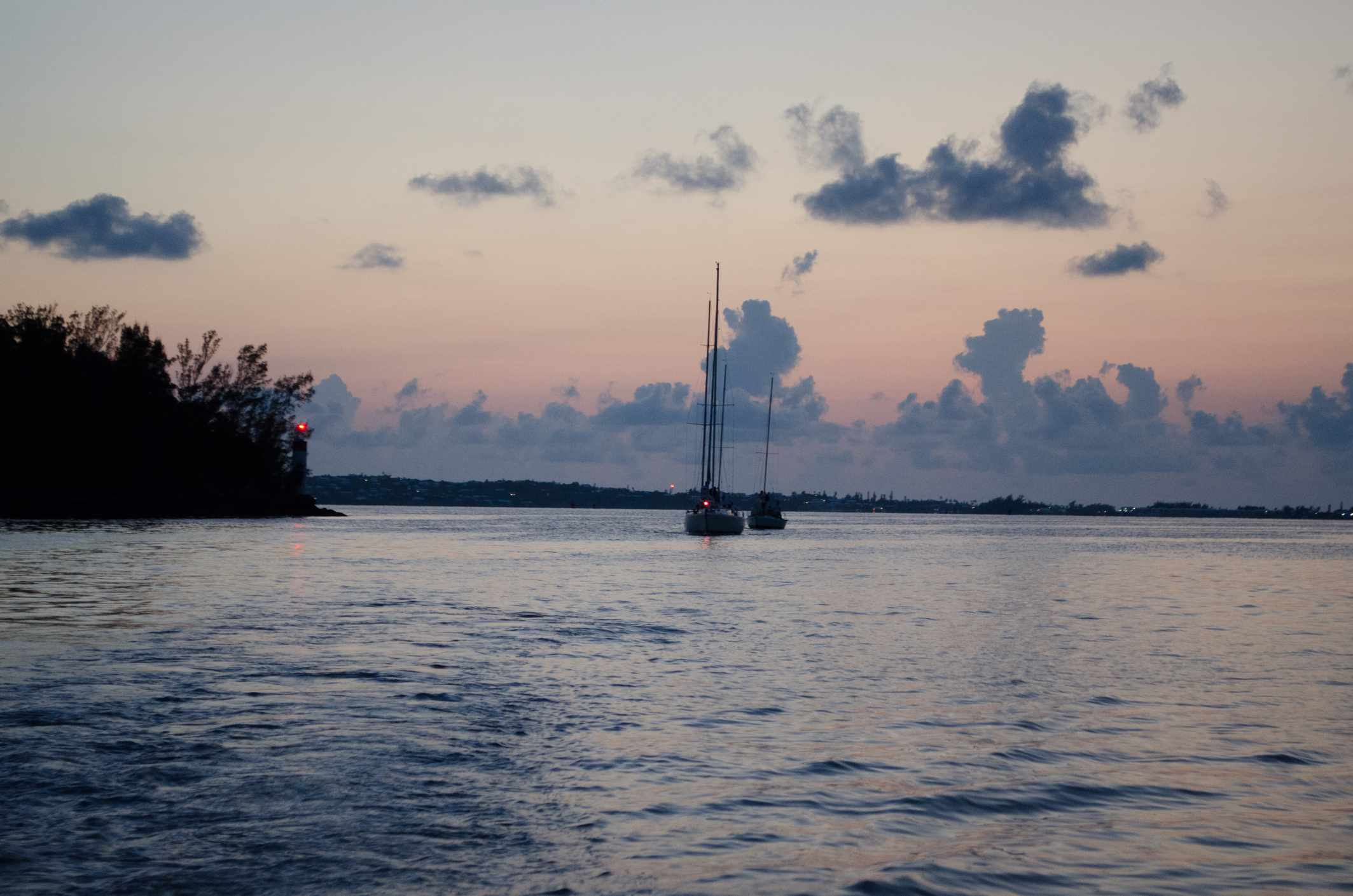 Sunset sail, Bermuda