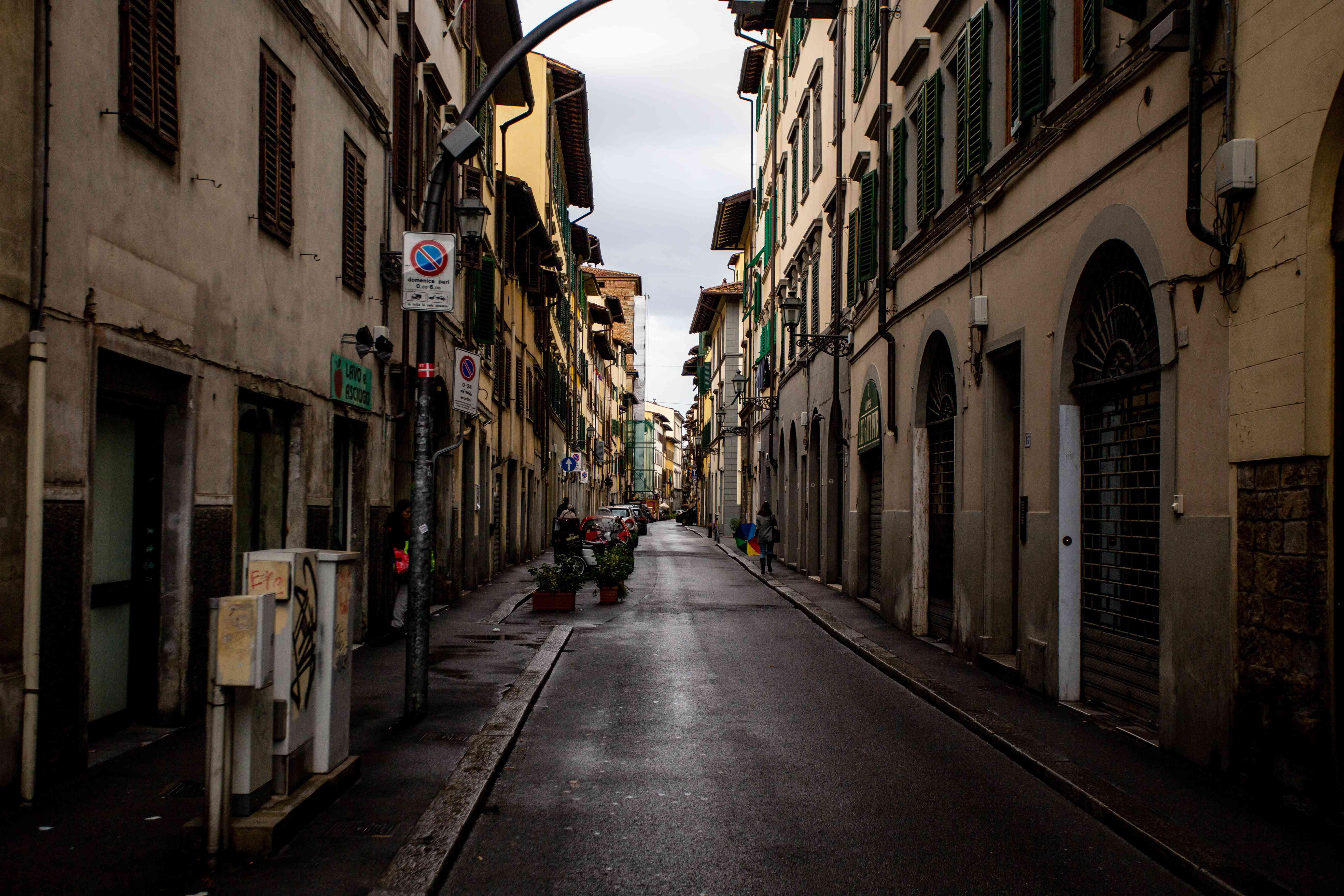 San Frediano neighborhood in Florence, Italy