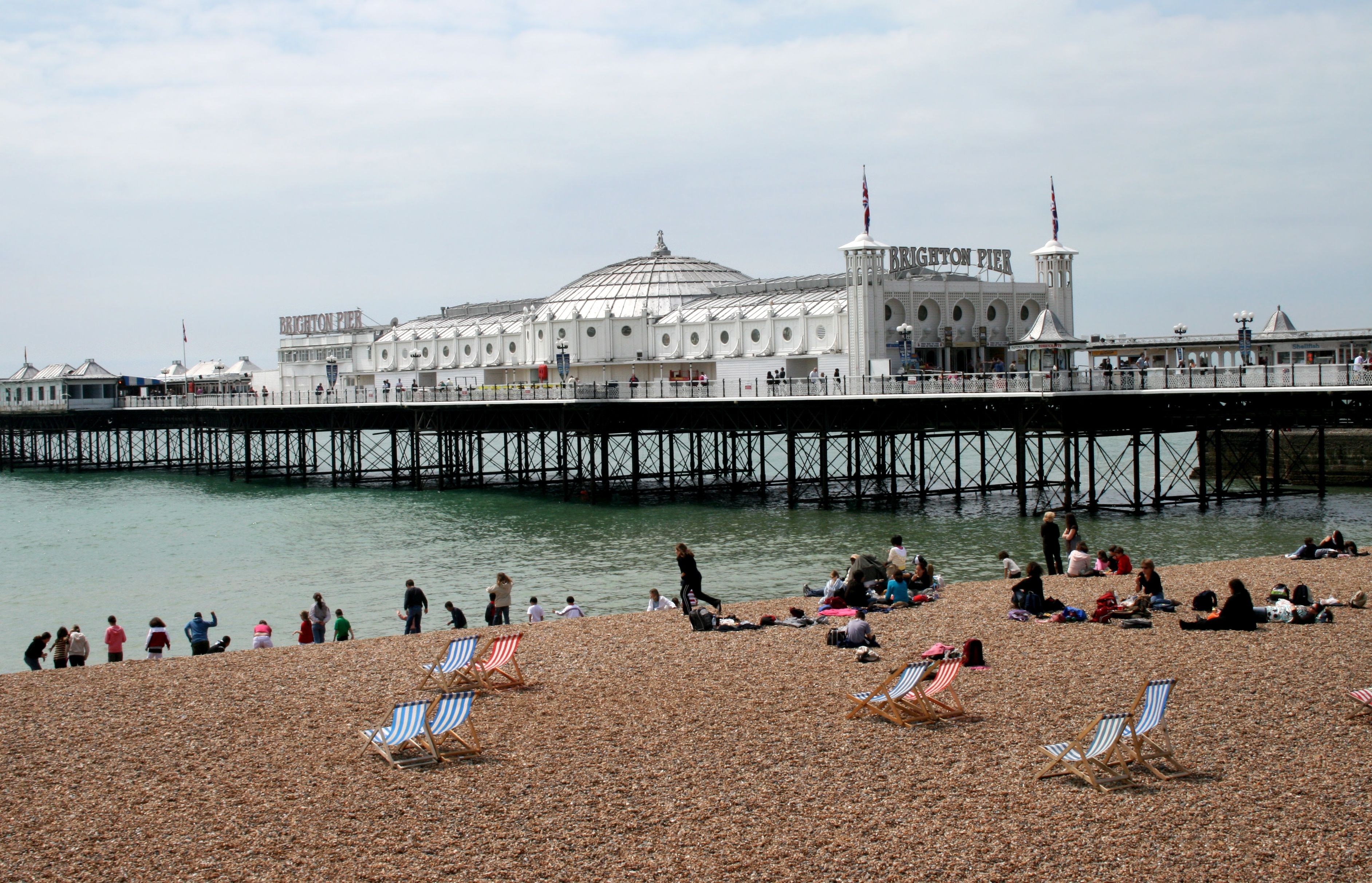 Brighton S Beautiful Seafront And Piers