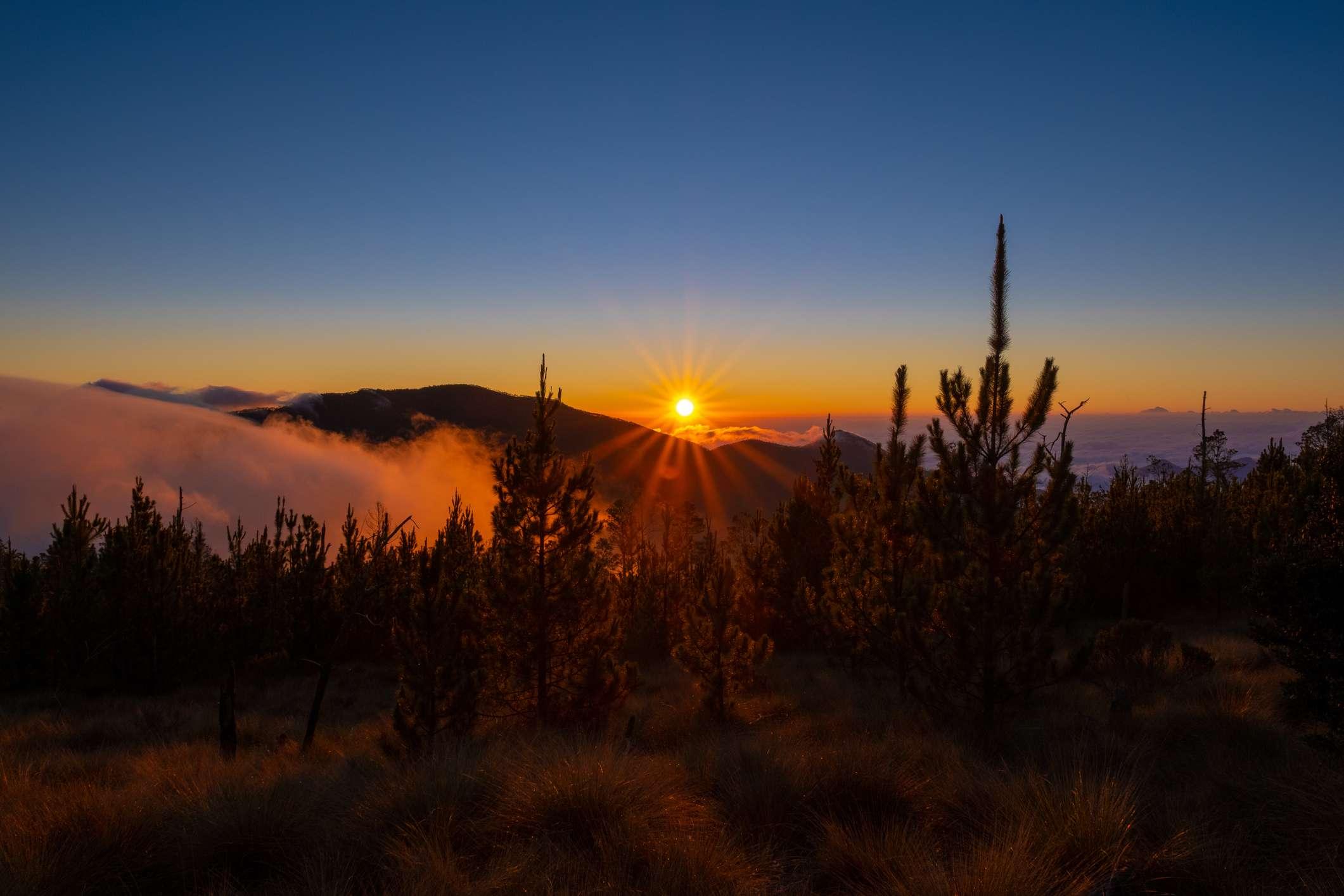 Sunrise at Valle de Lilis