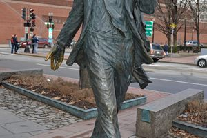 Kevin White Statue Boston