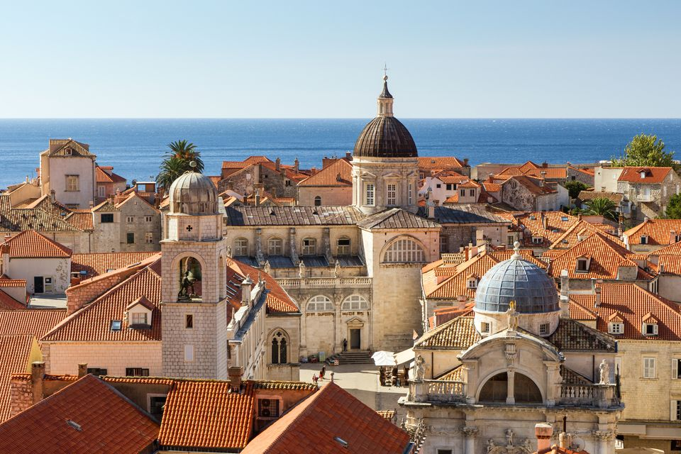 Old Town's skyline in Dubrovnik