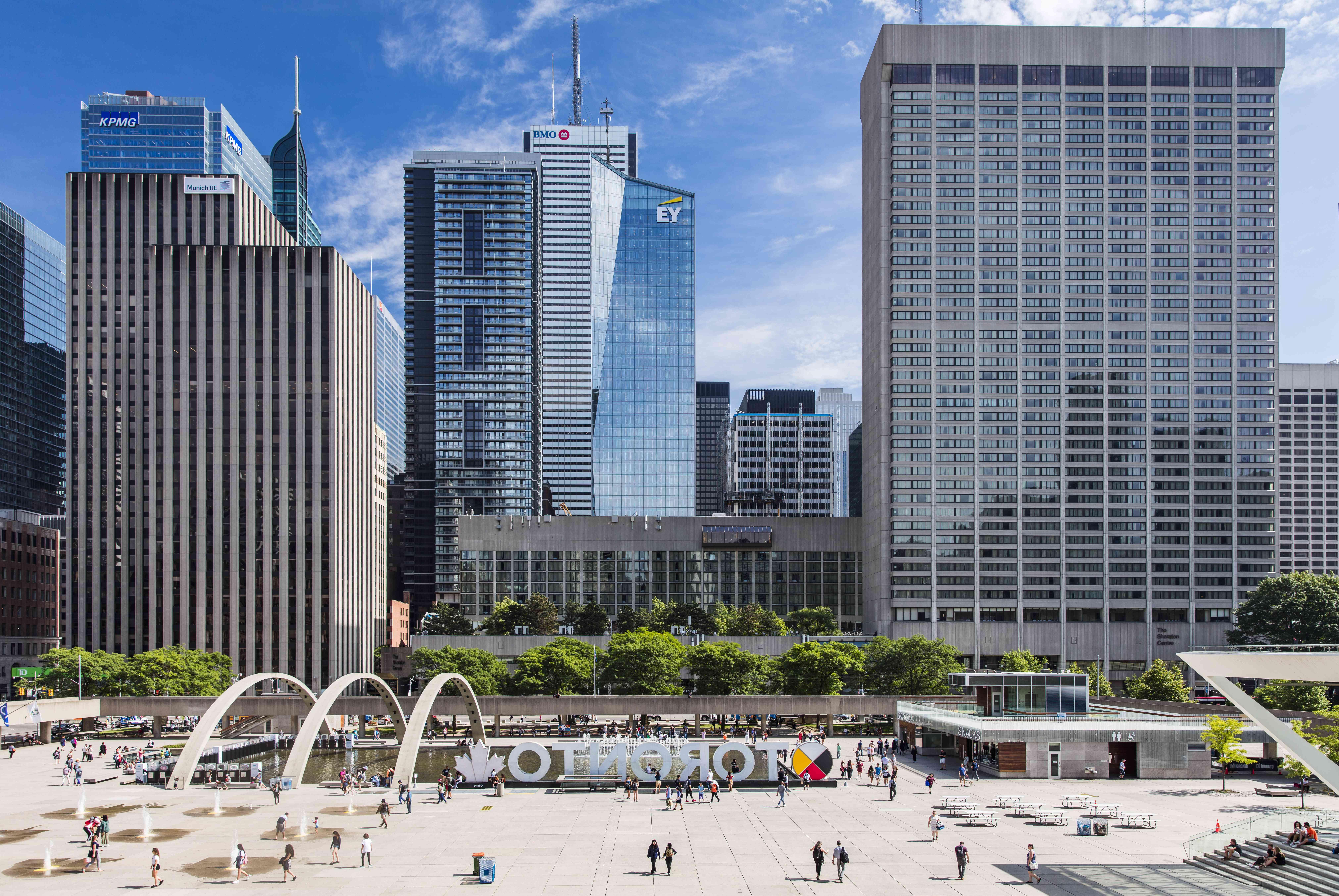 Podium Roof, Toronto