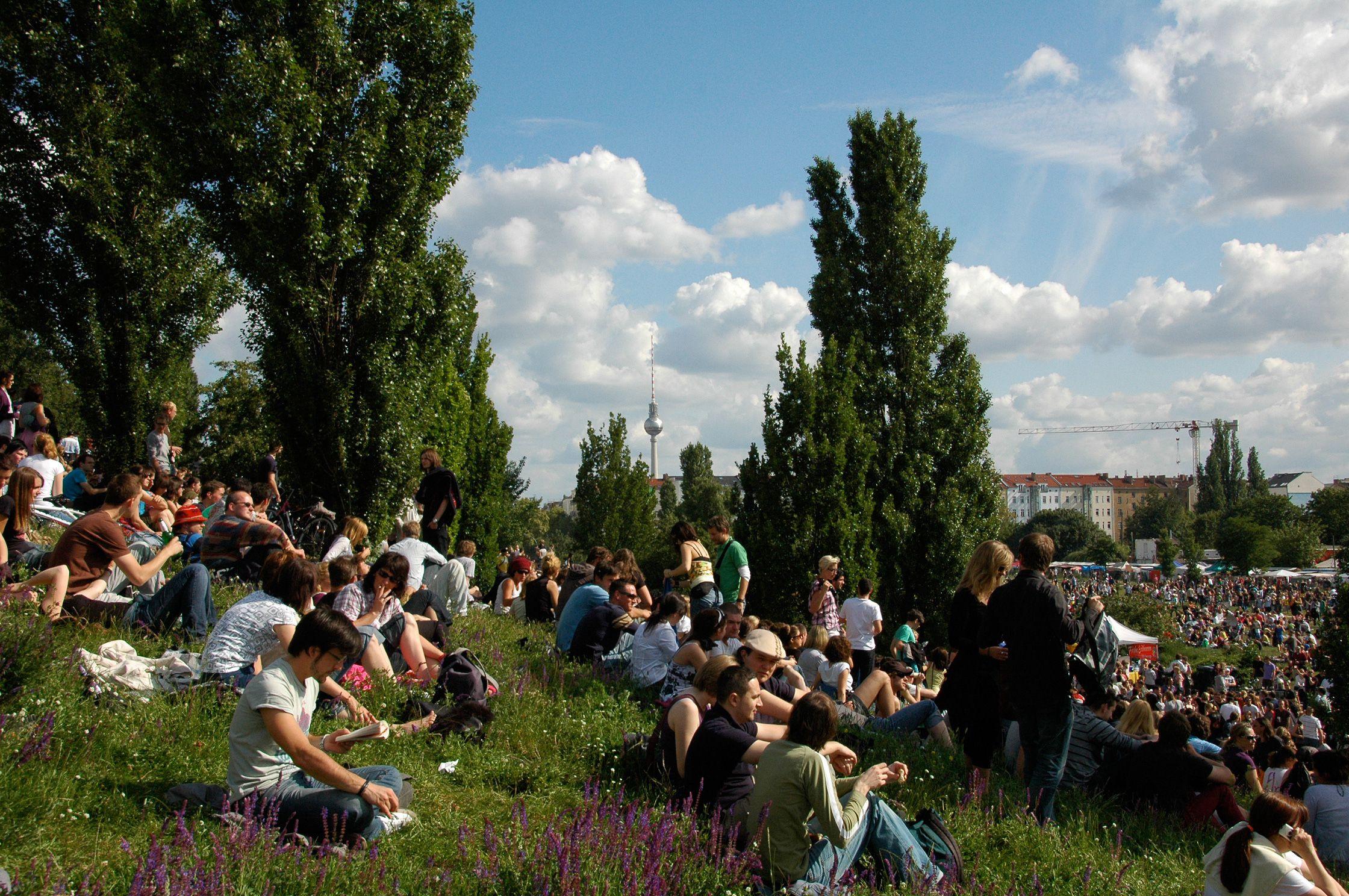 Fete de la Musique im Mauerpark