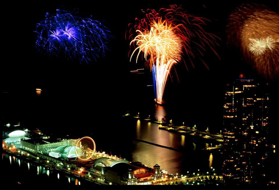 Fireworks 360 Chicago