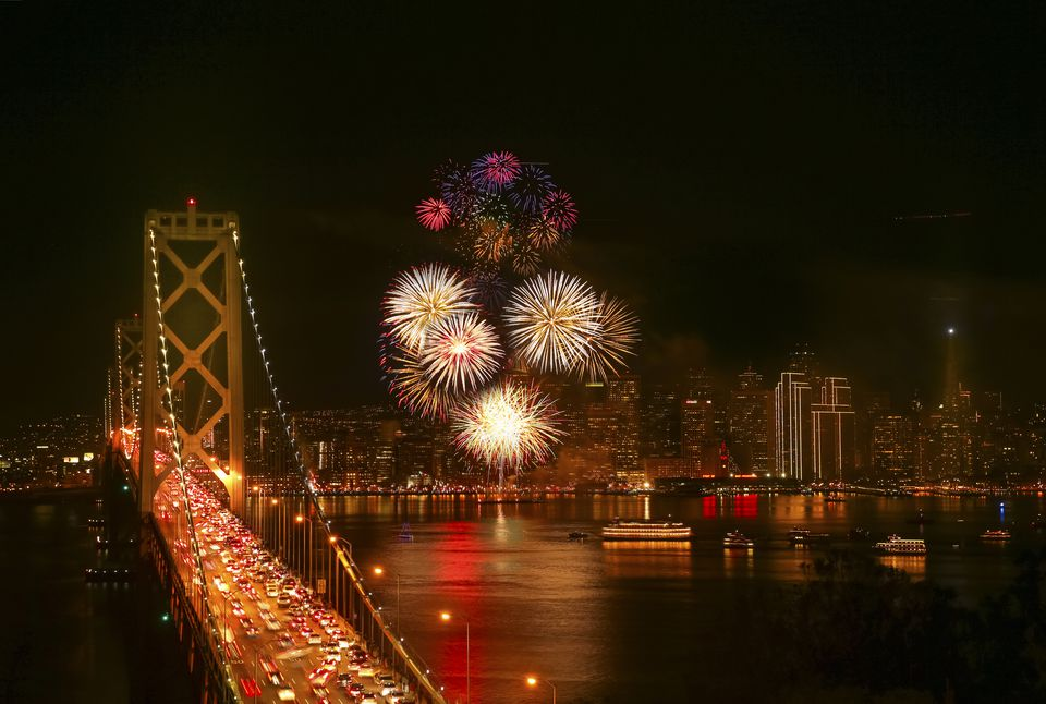 Awesome Things to Do for New Year's Eve in California