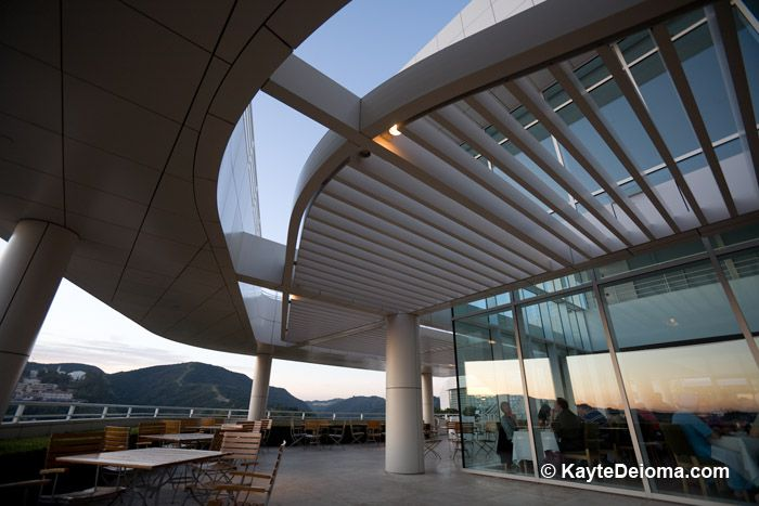 Restaurant at the Getty Center
